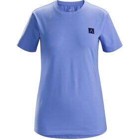 Arc'teryx A Squared Naiset Lyhythihainen paita , violetti